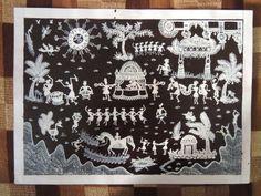 indian warli painting