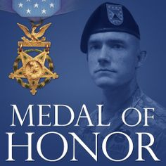 #USArmy Staff Sgt. Ty Michael Carter exemplified the highest ideals of an American Soldier. Awarded the Medal of Honor, he continues to exemplify those ideals by raising awareness of PTSD by sharing his own story.