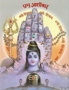 Blessings of Shiva (via Dolls of India) Shiva Parvati Images, Shiva Hindu, Shiva Art, Hindu Deities, Hindu Art, Krishna Images, Krishna Art, Lord Shiva Pics, Lord Shiva Hd Images