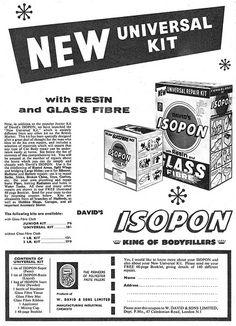 Isopon Bodyfiller Ad 1963