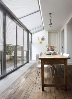 Open Plan Kitchen Diner, Open Plan Kitchen Living Room, House Extension Design, House Design, Marquise, House Extensions, Industrial House, Home Deco, Home And Living