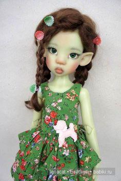 Где живут эльфы? . Моя Мики от Kaye Wiggs / Куклы Кайе Виггз, Kaye Wiggs dolls / Бэйбики. . Куклы фото. . Одежда для кукол