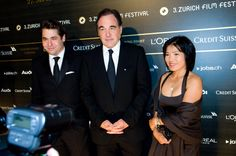 Karl Spoerri, Oliver Stone and wife at ZFF 2007 Oliver Stone, Zurich, Film Festival, Filmmaking, Day, Cinema, Movie Party