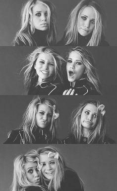 Olsen twins- I can't help it. I love them. :)