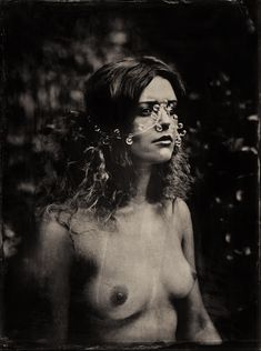 Photography, Large format in People, Nude, Female, Large Format Mentor Panorama 18x24, wet plate collodion, ambrotype, mokry kolodion, Model: https://facebook.com/KaciarynaRi/ VI edycja Podlaskie Plenery Fotograficzne bijoux: Katarzyna Gemborys, https://www.fac… - Image #591015