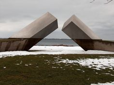 The Time Sculpture in Kingston Ontario - Still interesting to me to this day.    Photo By Saomik on Flickr.com