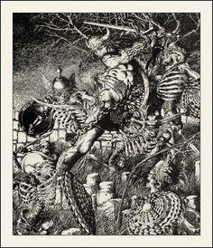 Barry Winsor Smith ~ Conan