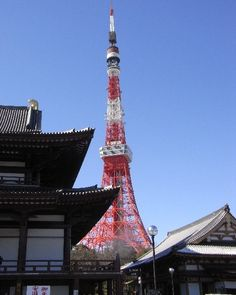 Tokyo Tower is a tower built in 1958. It is located near central Tokyo and 333 meters There is Zojoji temple near the tower. http://www.travel-around-japan.com/k31-36-tokyo-tower.html