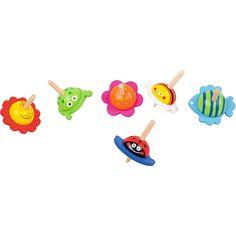 Kolorowe bączki zwierzątka #creative #animals #kids  http://www.mojebambino.pl/pomoce-zrecznosciowe/1298-drewniane-baczki-zwierzatka.html