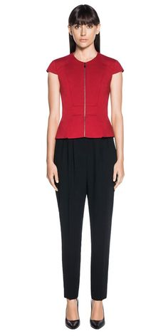 CUE - Layered Peplum Top. C30842 RRP $199.