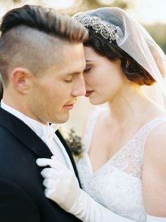 Perfect veil for a 1920's themed wedding! Veil is by @BrideLaBoheme Inspiration styled and shot by Katie Grant