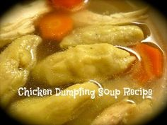 This delicious Chicken Dumpling Soup Recipe is a yummy solution to enjoy with your family and friends on a cold, snowy or rainy days. Chicken Dumpling Soup, Dumplings For Soup, Yum Yum Chicken, Rainy Days, Poultry, Quinoa, Gluten Free, Victoria, Canning