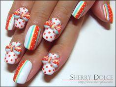 Nail art /kawaii / cute /Candy
