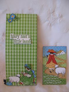 Graphic 45 Mother Goose Card