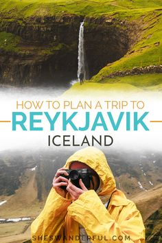 Plan a trip to Reykjavik, Iceland | Reykjavik is a fantastic base for exploring Iceland any time of year. Here's a complete Iceland travel guide, including day trips from Reykjavik, Iceland travel tips, when to visit and where to stay! | Travel tips for Iceland | The essential travel guide to Iceland | Things to do in Reykjavik Iceland Guide To Iceland, Iceland Travel Tips, Travel Tips For Europe, Travel Guide, Travel Destinations, European Road Trip, European Travel, Iceland Photos, Reykjavik Iceland