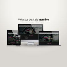 Increíble – Multipurpose HTML5 Template - https://free4all.screnter.com/increible-multipurpose-html5-template/