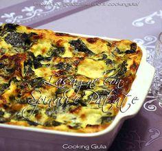 Lasagne con spinaci e patate, ricetta vegetariana