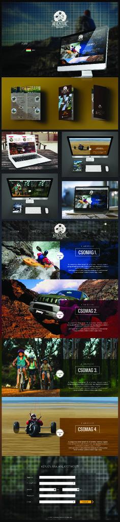 Logo - Website - Catalogue design for Adventure Expert