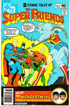 Super Friends 1976 DC 1st Series 29  February 1980 by ViewObscura