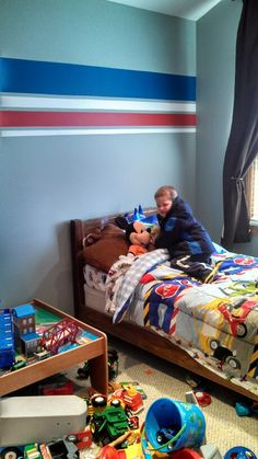 Jrs room! Little boys room colors