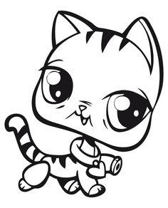Desenhos para pintar Littlest pet shop 29