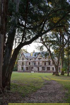 Castillo san francisco (Castillo de Egaña), partido de Rauch, prov. de Buenos Aires, AR