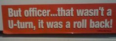 I saw this really funny bumper sticker at a tack store and couldn't stop laughing.