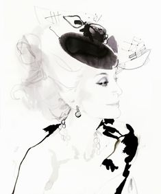 Carmen Dell'Orefice, Claridge's November 2011