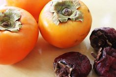 Autumn Eating – Cooking with Persimmon Michal Haines First Cultivated way back in the eighth century by the Japanese, the persimmon had long been an autumnal delight in China. Resembling a g…