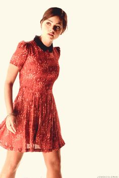 Torn for which board to pin to, on one hand: pinning for the dress! On the other: Clara Oswald <3