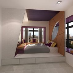 Hdb 4Rooms Flat On Behance  Small Apartment  Pinterest Mesmerizing Hdb Bedroom Design Ideas Inspiration