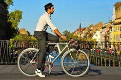 I bike Strasbourg: Original Vanmoof style !