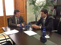 Reunión con el Vicepresidente y Portavoz de la Generalitat Valenciana 28/01/2013