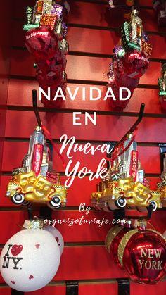 Los mercados navideños más chulos, las pistas de hielo más famosas y todo lo que hace que la Navidad sea genial en Nueva York, para no perderte nada. Después de un montón de viajes a Nueva York te lo hemos recogido aquí todo. #viaje #viajar #nuevayork #ny #navidad #consejos New York City, Christmas Bulbs, Road Trip, Nyc, Outfit Winter, Holiday Decor, Travelling, Miami, Wanderlust