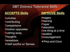 DBT Peer Connections - Episode 3 - Distress Tolerance Skills by Rachel Gill
