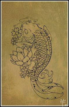 Koi... always wanted a koi tatt somewhere..