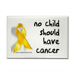 September is Childhood cancer awareness month.