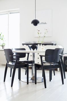 my scandinavian home: Black and white Finnish touch