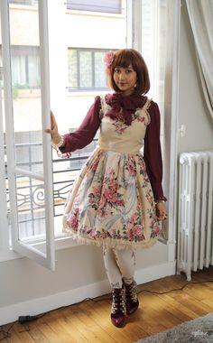 xylia-x:  What I wore in Paris♡