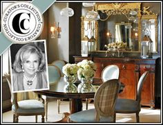 """My Curator's Collection is now live at Joss and Main! """"Bring sophisticated style to your decor with finds from her Elegant Rooms collection—brimming with artful accents, stately furniture, classic detailing, & beautiful botanicals."""""""