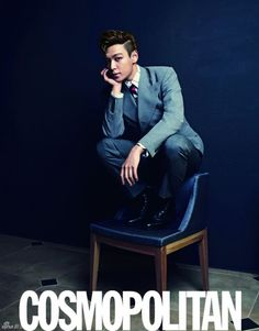 Big Bang TOP - Cosmopolitan Magazine March Issue '12