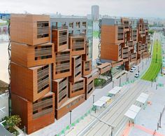 Basket Apartments: OFIS Unveils Healthy & Sustainable Student Housing Project in Paris
