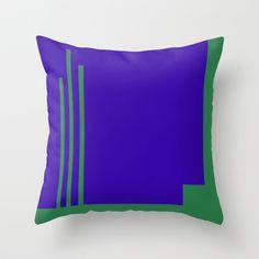 """Woman from Venus (della serie """"La Teoria del Colore"""") Throw Pillow by Fernando Vieira"""
