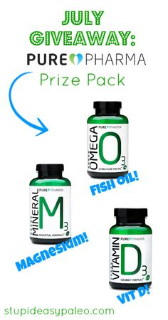 July Giveaway: PurePharma Prize Pack
