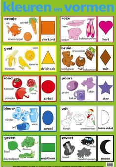 poster kleuren en vormen