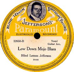 Blind Lemon Jefferson | Largely due to the popularity of artists such as Blind Lemon Jefferson and contemporaries such as Blind Blake and Ma Rainey, Paramount became the leading recording company for the blues in the 1920s.