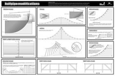 Build your own Mini Halfpipe! Ramp Plan Blueprints, Step by step manual & How To DVD Video Scooter Ramps, Bmx Ramps, Mini Skate, Skate Ramp, Skateboard Photos, Skateboard Ramps, Mtb Trails, Mountain Bike Trails, Half Pipe Plans