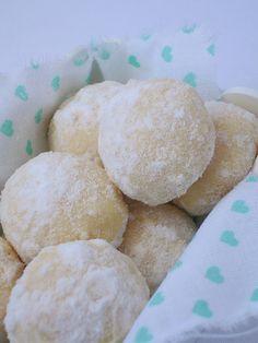 Coconut balls / a Martha Stewart Recipe..