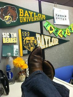 Are you #Baylor Proud at work? @LINSinTX is! #sicem