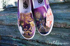 Disney Converse, Vans Slip On Shoes, Custom Vans Shoes, Disney Painted Shoes, Van Wall, Shoe Art, Disney Style, Disney Inspired, Disney Pixar